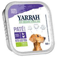 Yarrah Bio alimento biologico Paté 12 x 150 g
