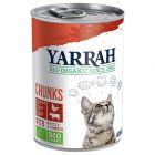 Yarrah Bio Bocaditos 6 x 405 g en latas para gatos