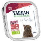Yarrah Bio Bocconcini in Salsa Alimento umido per gatti 6 x 100 g