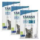 Yarrah Bio bâtonnets au poisson pour chat