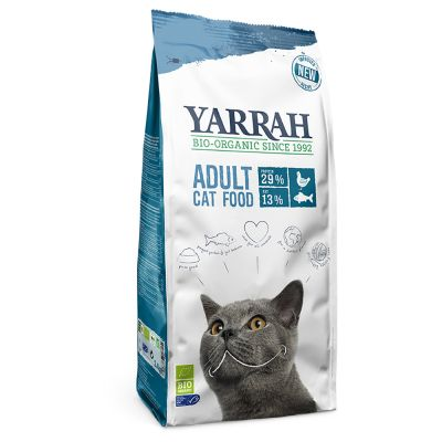 Yarrah Bio Cat Food z rybą