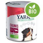 Yarrah Bio Chunks poulet, bœuf, orties, tomates