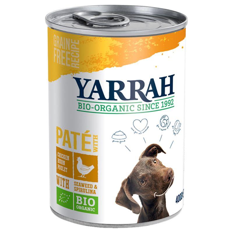 Yarrah Bio Chunks -säästöpakkaus 12 x 400/405 g