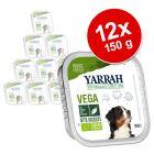 Yarrah Bio Chunks Vega 12 x 150 g pour chien