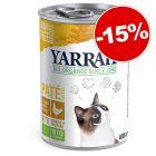 Yarrah Bio comida húmeda para gatos ¡con gran descuento!