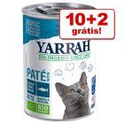Yarrah Bio comida húmida em promoção: 10 + 2 grátis!