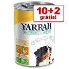 Yarrah Bio comida húmida em promoção: 10 + 2 latas grátis!
