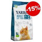 Yarrah Bio 2,4 kg pour chat : 15 % de remise !