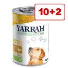 Yarrah Bio -koiranruoka 12 x 380/400/405 g erikoishintaan!