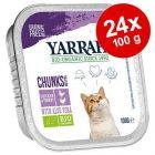 Yarrah Bio kousky v omáčce 24 x 100 g