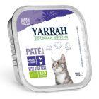 Yarrah Bio Paté Alimento umido per gatti 6 x 100 g