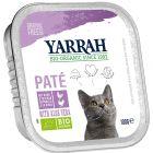 Yarrah Bio Paté 6 x 100 g en tarrinas para gatos