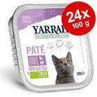 Yarrah Bio paté 24 x 100 g ve výhodném balení