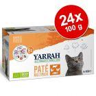 Yarrah Bio Paté zkušební balení 24 x 100 g