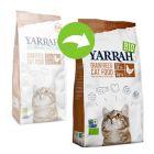 Yarrah Bio poulet bio, poisson sans céréales pour chat