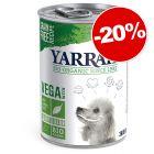 Yarrah Bio Vega 380 g ou 12 x 150 g pour chien : 20 % de remise !