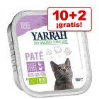Yarrah Bio 12 x 100 g en oferta: 10 + 2 tarrinas ¡gratis!