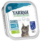 Yarrah biologisch kattenvoer chunks 6 x 100 g