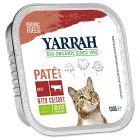Yarrah biologisch kattenvoer paté 6 x 100 g