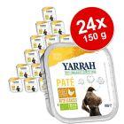 Yarrah comida biológica 24 x 150 g - Pack económico