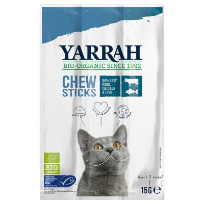 Yarrah Organic Chew Sticks with Fish