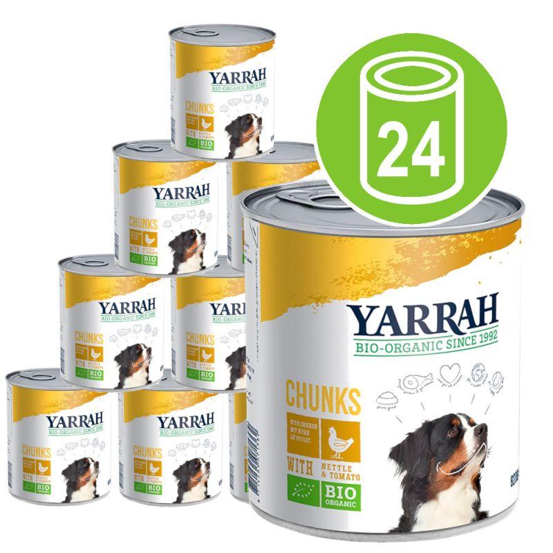 Yarrah Organic Chicken Chunks with Organic Nettle & Tomato Saver Pack