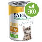 Yarrah Organic Chunks - Eko-kyckling med eko-brännässlor & eko-tomater