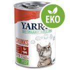 Yarrah Organic Chunks - Ekologisk kyckling & eko-nötkött med eko-nässlor
