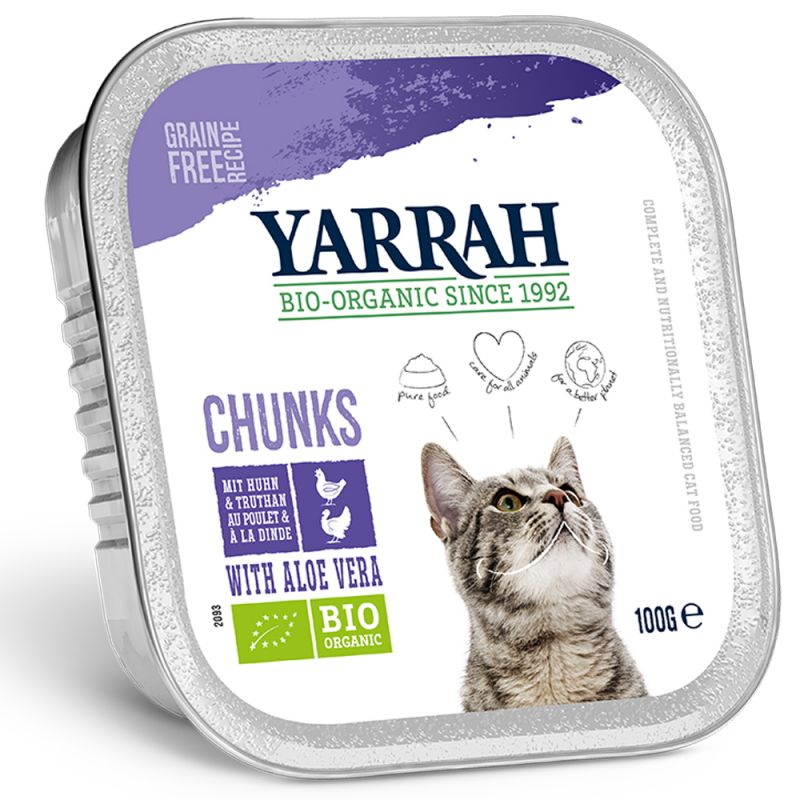 Yarrah Organic Chunks in Gravy 6 x 100g