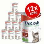 Yarrah Organic Chunks Saver Pack 12 x 405g