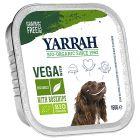 Yarrah Organic Chunks Vega, ruusunmarja 12 x 150 g
