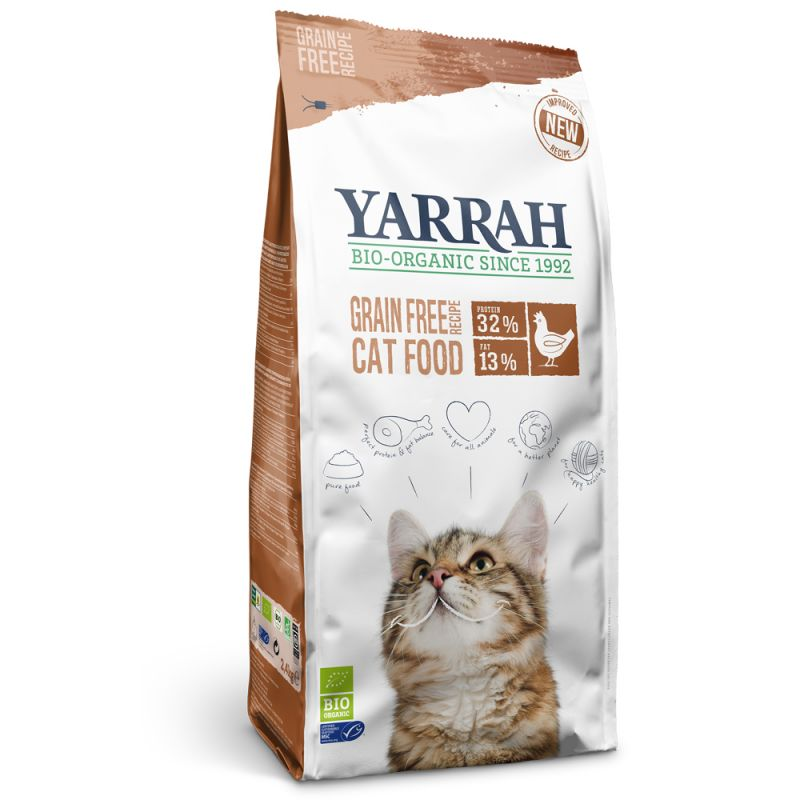 Yarrah Organic Grain Free with Chicken & Fish