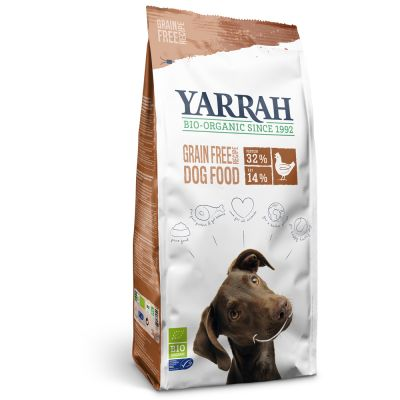 Yarrah Organic Grain-Free with Organic Chicken