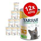 Yarrah Organic Pâté Saver Pack 12 x 400g