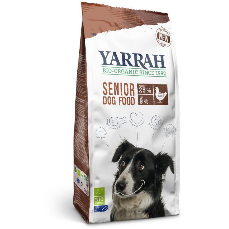 Yarrah Organic Senior hundfoder (glutenfritt)