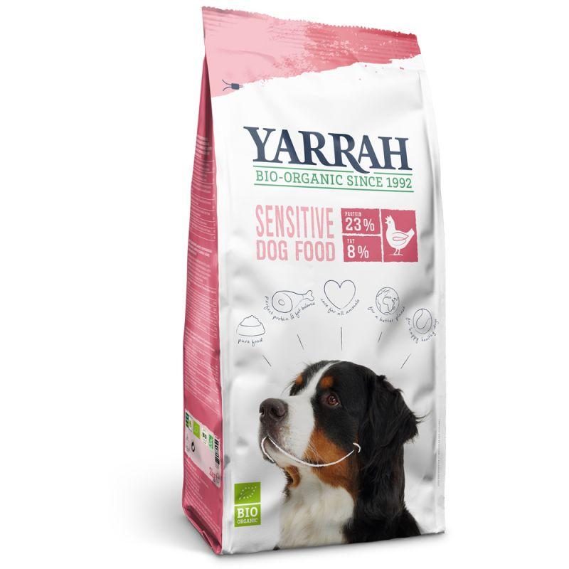 Yarrah Organic Sensitive med kyckling & ris