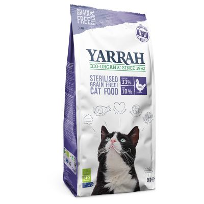 Yarrah Organic Sterilised Grain Free with Organic Chicken & Fish