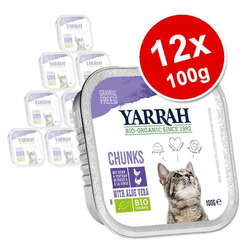 Yarrah Organic Tray Saver Pack 12 x 100g