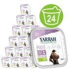 Yarrah Organic Trays Pâté Saver Pack 24 x 150g