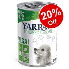Yarrah Organic Vega Dog Chunks with Cranberries - 20% Off!*
