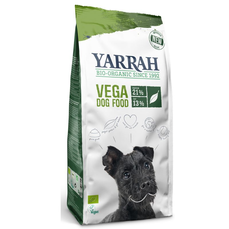 Yarrah Organic Vega vegetariskt / veganskt hundfoder