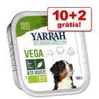 Yarrah terrinas comida húmida 12 x 150 g em promoção: 10 + 2 grátis!