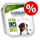 Yarrah 12 x 150 g terrinas para cães com grande desconto!