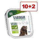 Yarrah-märkäruoka 12 x 150 g: 10 + 2 kaupan päälle!