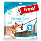 Your Free Gift: 170g Hill's Dental Care Chews*