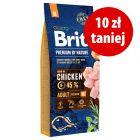 10 zł taniej! Brit Premium by Nature, 15 kg / Brit Care, 12 kg