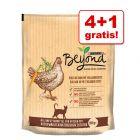 4 + 1 zdarma! Beyond Cat granule pro kočky 5 x 1,4 kg