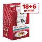 18 + 6 zdarma! Gourmet Mon Petit, 24 x 50 g