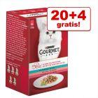 20 + 4  zdarma! Gourmet Mon Petit, 24 x 50 g