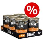4 + 2 zdarma! 6 x 400 g  Crave Adult